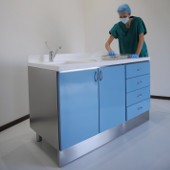 Technical furniture for packing sterile tools