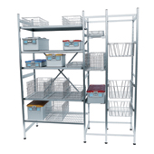 Shelving system for storage